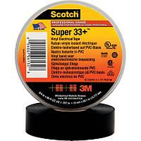 Изолента 3M Scotch™ Super 33+ высшего класса всепогодная поливинилхлоридная ПВХ самозатухающаяся