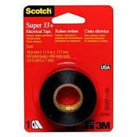 Изолента 3M Scotch™ Super 33+ самозатухающаяся 11.4 м