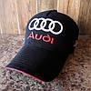 Бейсболка, кепка Audi черная