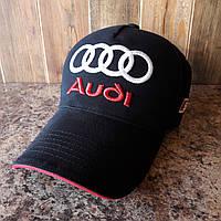 Бейсболка, кепка Audi черная, фото 1