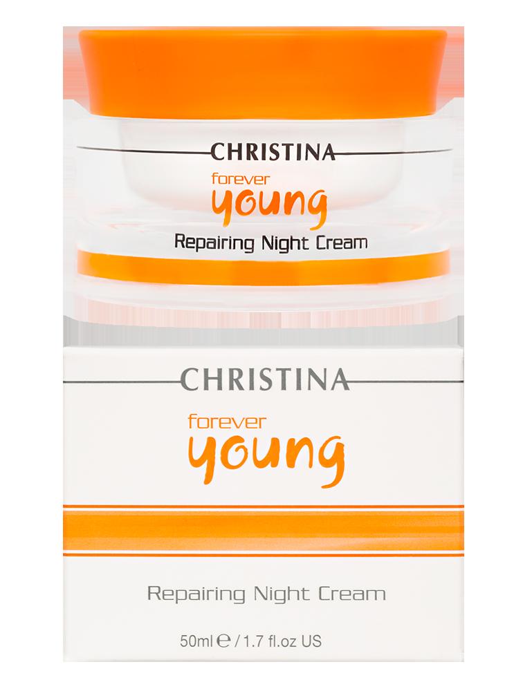 """Форевер Янг Ночной крем """"Возрождение"""" Forever Young Repairing Night Cream, 50 мл"""