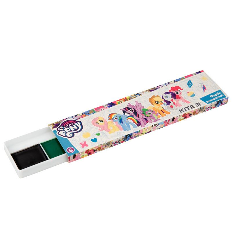 Краски акварельные, картон.упак., б/к, 6 цв. LP lp19-040