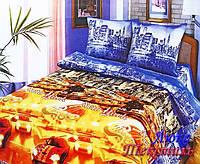 Постельное белье Top Dreams Cotton Ночной город полуторное
