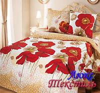Постельное белье Top Dreams Cotton Летние маки полуторное