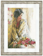 """Набор для вышивания Lanarte """"Утренняя красота"""""""
