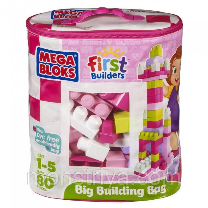 Набор конструктора в пакете 'Розовый' серии Первые строители.