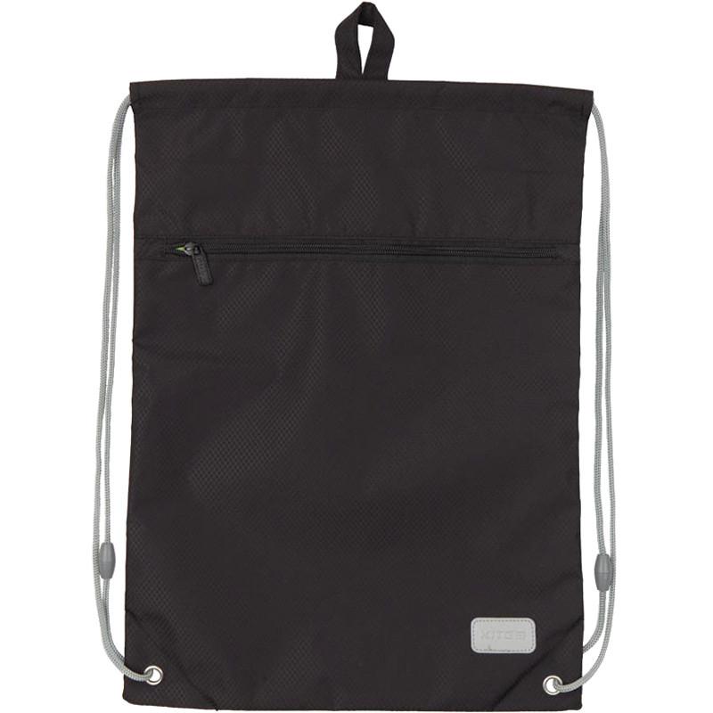 Сумка для обуви с карманом Kite Education Smart.Черн k19-601m-35