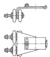 Производство троллеедержателей серии ДТ и  ДТН