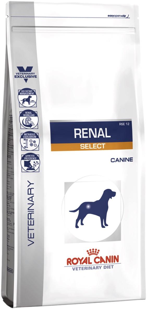 Лікувальний сухий корм для собак Royal Canin Renal Select Canine 2 кг
