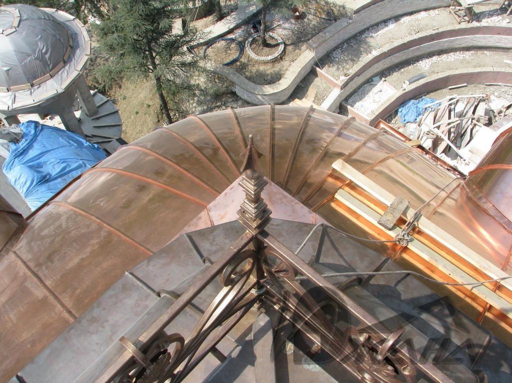 Сферический угол большого купола