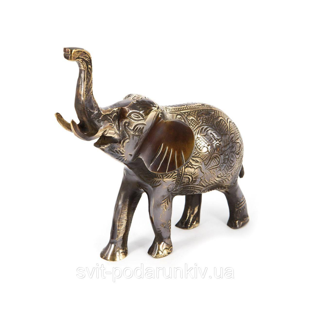 Статуэтка слона из бронзы S2202-1