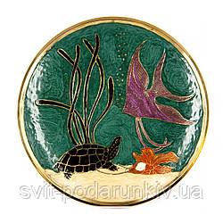 Тарелка декоративная настенная 2605F