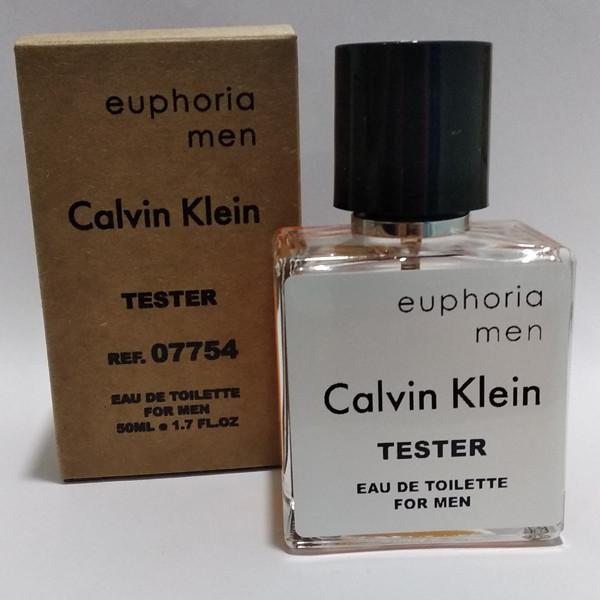 Мужская парфюмированная вода Calvin Klein Euphoria Men (Кельвин Кляйн Эфория Мен) 50 мл тестер|tester