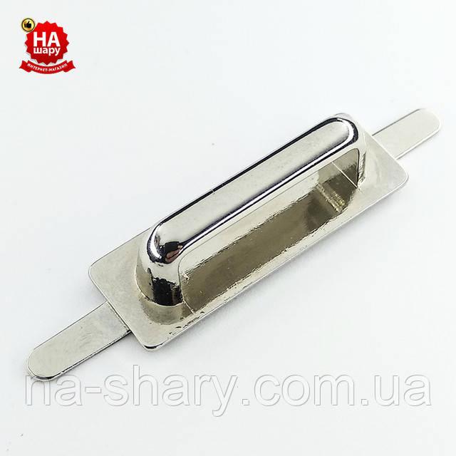 Ручкодержатель 24 мм серебро