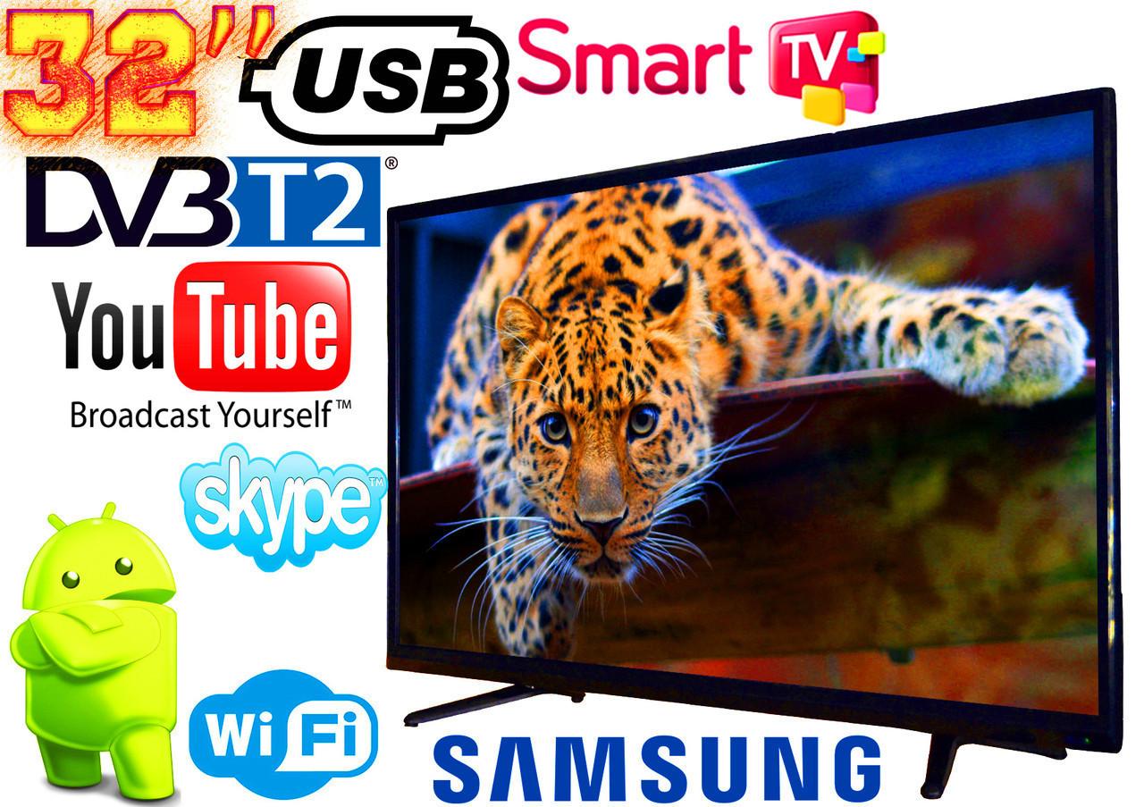 """LED Телевизор Samsung 32"""" SMART TV, DVB-T2 L34 Реплика (LY315D16A180731576W) Wi-Fi, USB HDMI"""