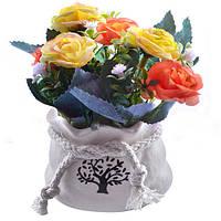 Композиция из искусственных цветов Small Roses 9*13см