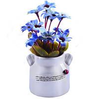 Композиция из искусственных цветов Ромашки 14*7см
