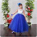Детское бальное платье в пол Размеры 30- 34, фото 2