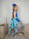 Платье праздничное со шлейфом  для девочки Размеры от 4 до 10 лет, фото 4