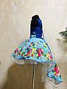 Платье праздничное со шлейфом  для девочки Размеры от 4 до 10 лет, фото 7