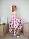 Платье со шлейфом для девочек от 4 до 10 лет, фото 2