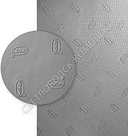 Vibram (ВИБРАМ), art.07373 57 CA 70 0010, р. 940*600*1 мм, цв. серый -резина подметочная/профилактика листовая