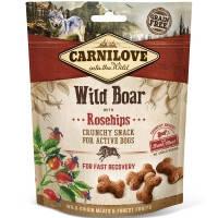 Лакомство для собак кабан, шиповник Carnilove Dog Crunchy Snacks Wild Boar with Rosehips 200 гр.