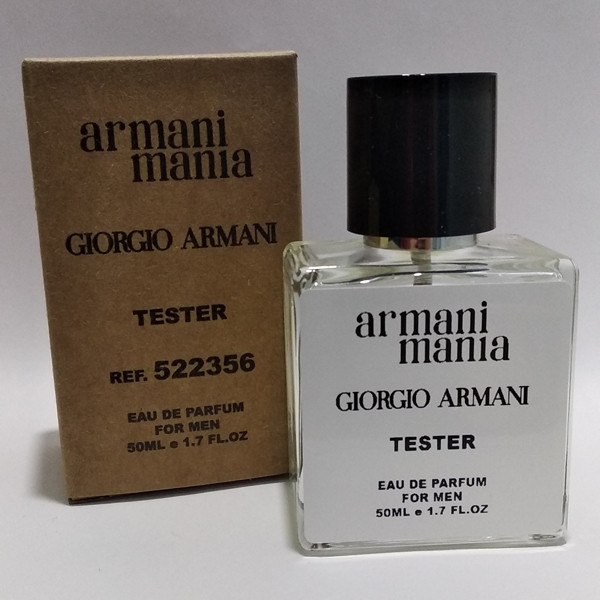 Мужская парфюмированная вода Giorgio Armani Mania Pour Homme (Армани Мания Пор Хом) 50 мл тестер|tester