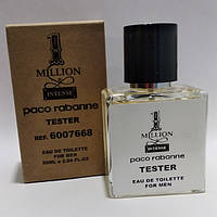 Мужская парфюмированная вода Paco Rabanne 1 Million Intence (Пако Рабан 1 Миллион Интенс) 50 мл тестер tester