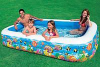 Семейный надувной бассейн Intex 58485
