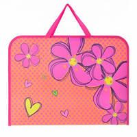 Папка-портфель с ручками А3 491315 Flowers