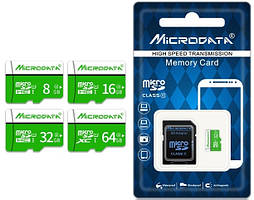 MicroData MicroSD карта 16Gb (10 class)