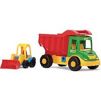Cамосвал-грузовик с погрузчиком Wader 32210