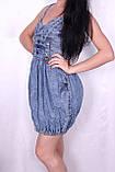 Джинсове плаття для жінок., фото 2