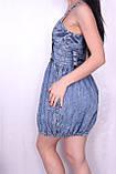 Джинсове плаття для жінок., фото 5