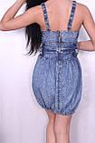 Джинсове плаття для жінок., фото 4