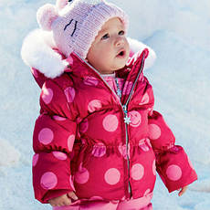 Куртки для новонароджених
