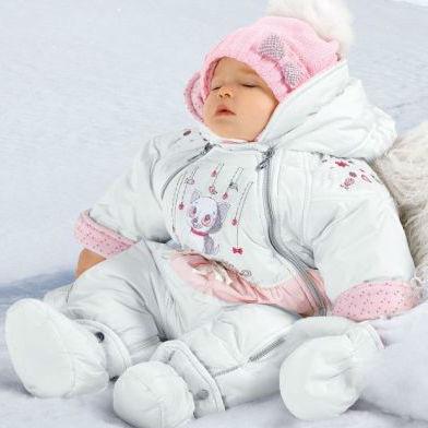 Комбинезоны зимние для новорожденных