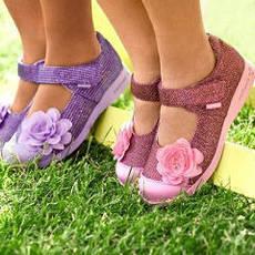 Летняя детская и подростковая обувь
