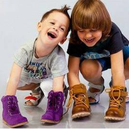 детская и подростковая обувь, общее