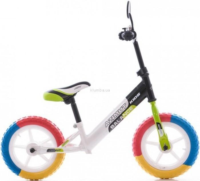 "Беговел (велобег) AZIMUT пена колеса 12"""