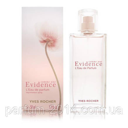 женская парфюмированная вода Yves Rocher Comme Une Evidence Leau De