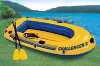 Лодка надувная двухместная Intex Challenger 2