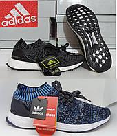 """Мужские кроссовки беговые Adidas Ultra Boost Uncaged """"Black"""" реплика"""