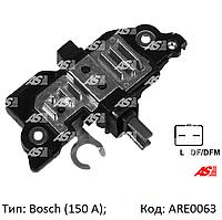 Реле зарядки для Opel Vivaro 2.5 cdti, Опель Виваро 2.5 цдти, на генератор Bosch, ARE0063
