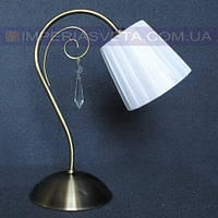Светильник настольный декоративный ночник IMPERIA одноламповый с абажуром LUX-521662