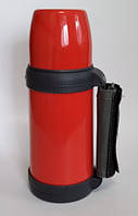 Термос Con Brio CB-330 (1л) Красный, фото 1