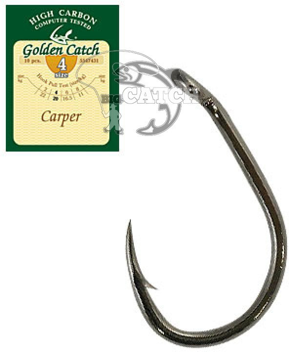 Крючок GC Carper №6