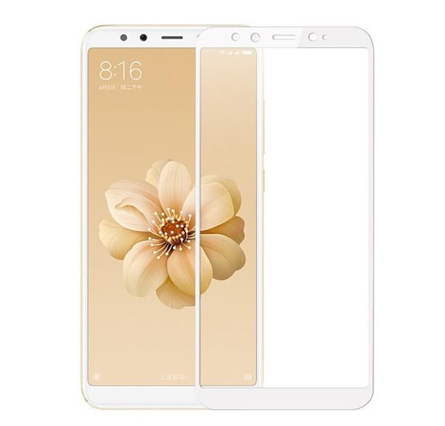 Защитное стекло 5D Future Full Glue для Xiaomi Mi A2 (Mi 6x) white