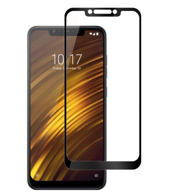 Защитное стекло 5D Future Full Glue для Xiaomi Pocophone F1 black